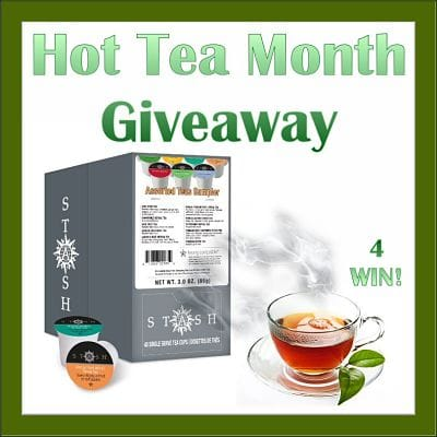 Hot Tea Month #Giveaway