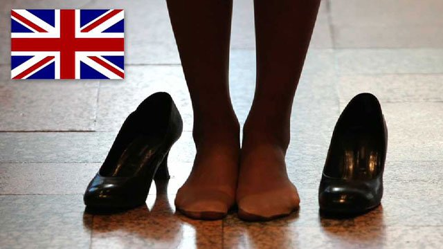 하이힐 신고 주기적으로 화장을 고쳐야 하며 투명한 스타킹만 착용하라, 회사의 요구 거부한 영국 여성 급여도 받지 못하고 쫓겨나. 영국 의회에 청원 냈더니 15만명 이상 지지서명. 평등법이 있지만 효과 없어 https://t.co/5dAakSHjrC