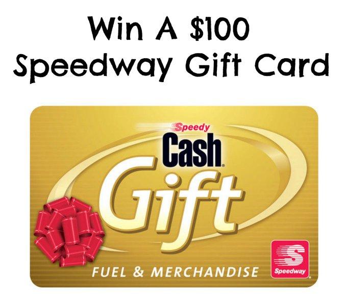 *HOT* NEW! $100 Speedway Gift Card Giveaway giveaway aaronreckgiveaway freebiequeen13