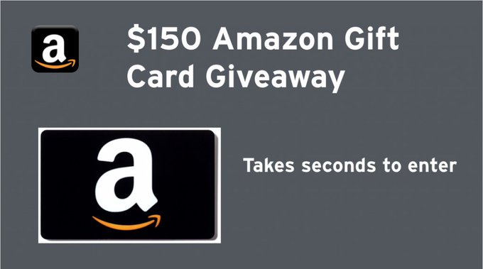 $150 Amazon Gift Card Giveaway (2/7 US)