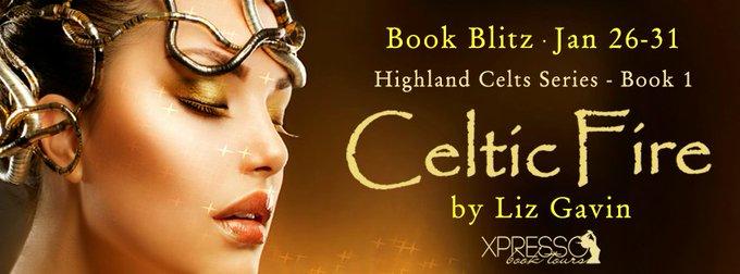 Book Blitz ~ Celtic Fire by Liz Gavin #Giveaway
