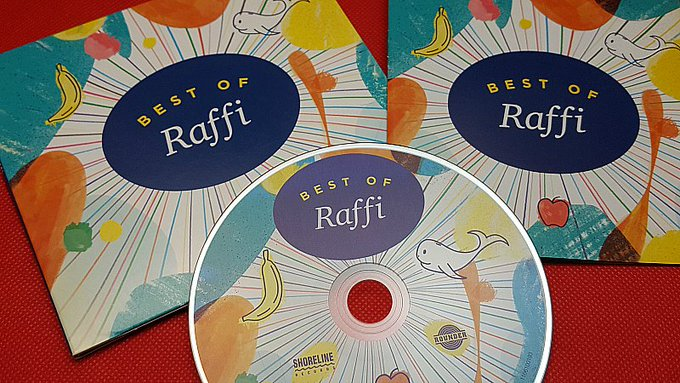 Giveaway – Best of Raffi Children's CD – 3 Winners – Ends 2/16/17