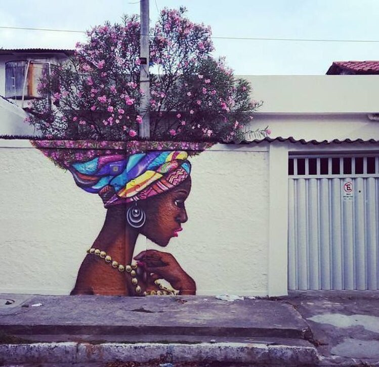When Street Art meets Nature   #art #arte #graffiti