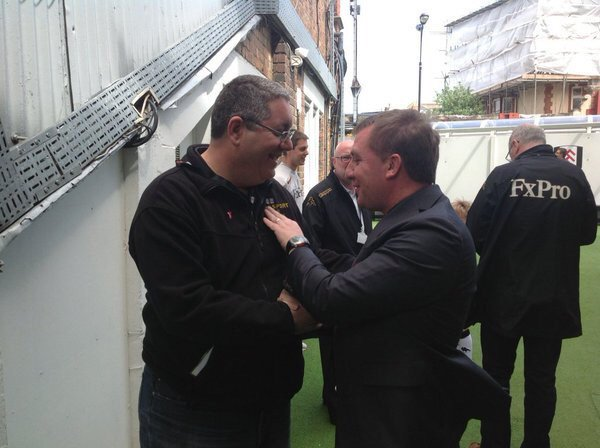 Happy Birthday to manager Brendan Rodgers, have a great day my friend