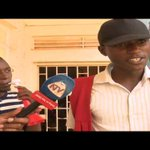 Makerere university students demonstrate over fired lecturer