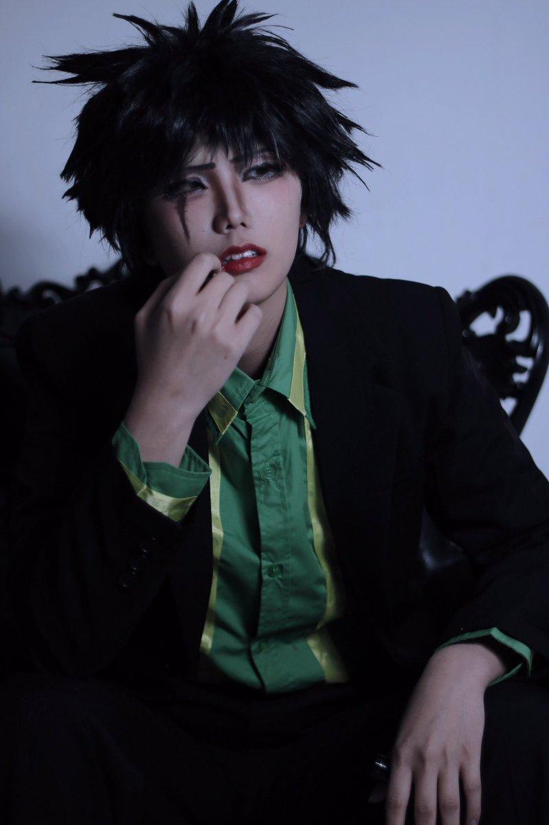 ※趣味注意cosplay:モブサイコ100character:魔津尾  こはむphoto:はるあ ( )-彩る口なんて要