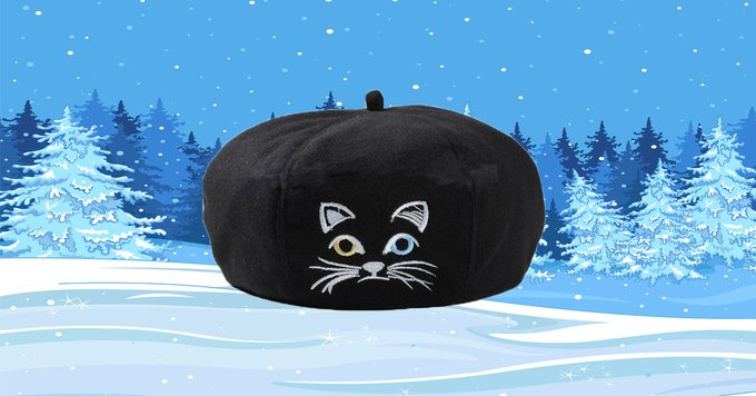 Giveaway: Cat Beret from Triple T Studios