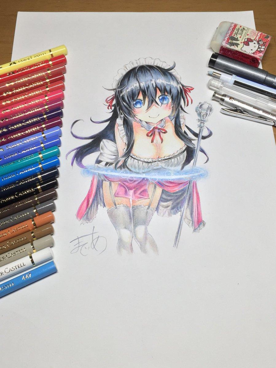 ネトゲの嫁の亜子描きました!! #模写#ネトゲの嫁
