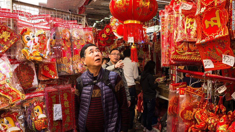 Hello to the year of the Rooster! LunarNewYear starts on Saturday via @CNNTravel
