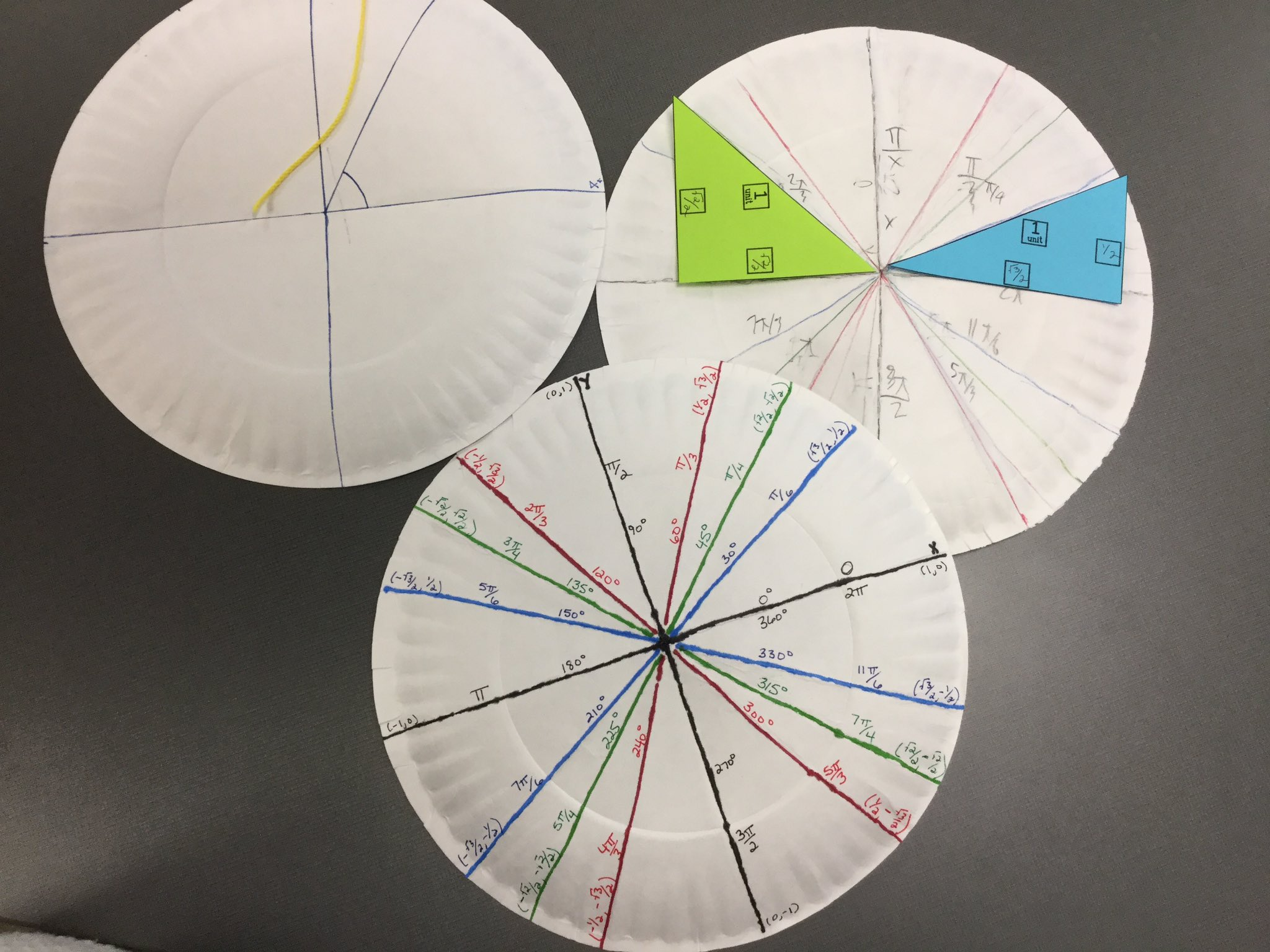 Discovered radians and the unit circle in precalc this week. Love it! :) #ourbmsa https://t.co/W52OICIODH