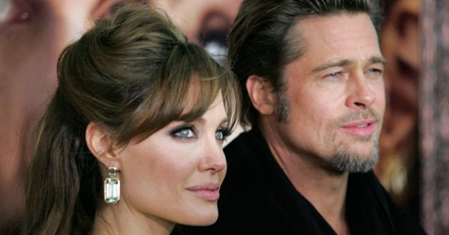 Woah. Brad Pitt and Angelina Jolie actually split a LONG time before we thought...