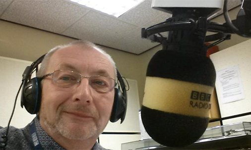 A @BBC Radio presenter revealed he has terminal cancer live on air from hospital: