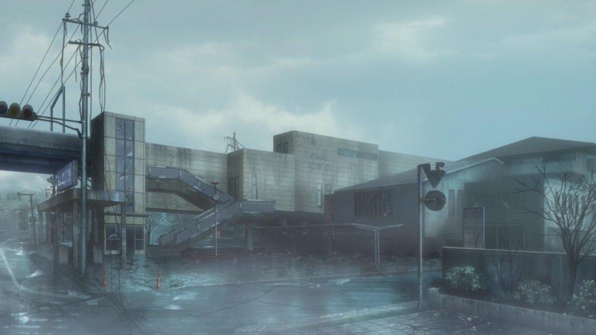 【 #planetarian 聖地巡礼スポット・助信駅】遠州鉄道の駅。高架化に伴って新築されました。旧駅舎のままだったら