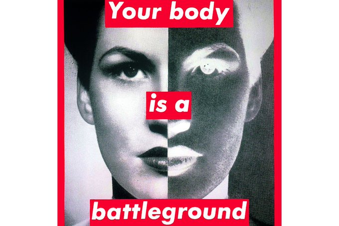 Happy birthday to Barbara Kruger, whose work is as relevant today as when she first made it.