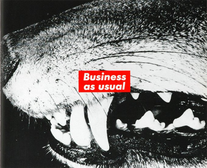 ""\""""I had to figure out how to bring the world into my work"""" Barbara Kruger. Happy Birthday!""680|552|?|en|2|2d24f33f95d143d12ff0c00ce21864fd|False|UNLIKELY|0.306613951921463
