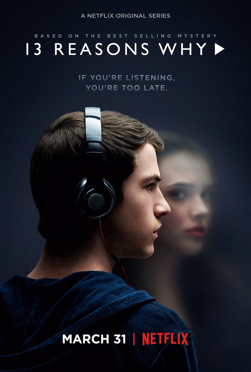 RT @dylanminnette: 13 Reasons Why comes to Netflix 3/31. https://t.co/Pye9zcDwqi