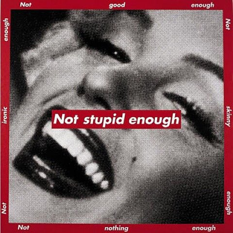 Happy birthday to the legend Barbara Kruger. Maybe you recognize this aesthetic...