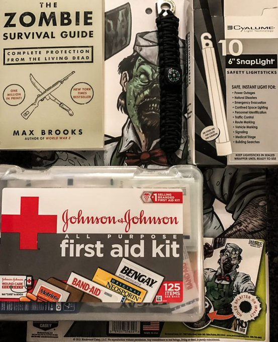 Zombie Survival Beginner Pack Raffle zombie raffle .rafflecopter giveaway freebie