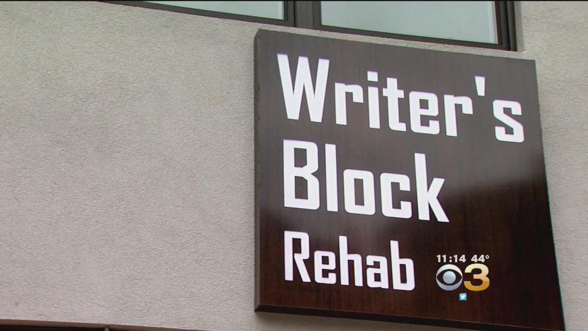 writers block rehab