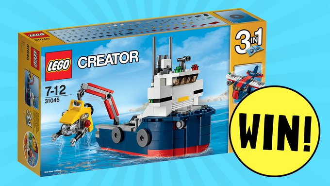 Win a LEGO Creator Ocean Explorer set! FreebieFriday competition giveaway