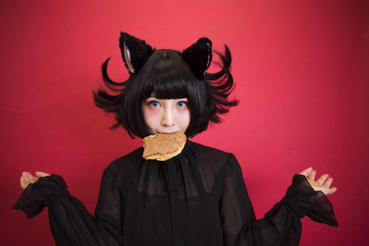 しらほなつみさんの写真とつぶやき:兎 rabbit ドーナツ doughnut  猫 cat たい焼き taiyaki  羊 sheep わたあめ cottoncandy  熊 bear パンケーキ pancake https://t.co/gTPO02SZdh