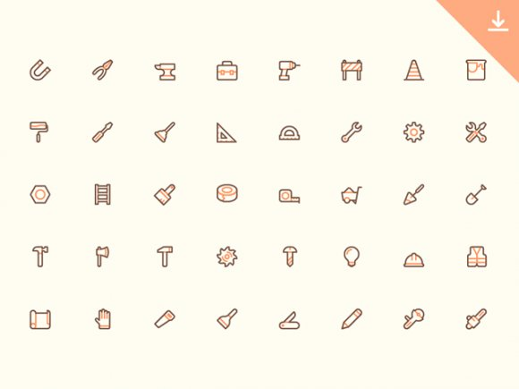 40 Free tool tiny icons ai free freebie freebies icons svg