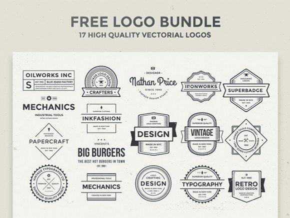 17 Free vintage logos free freebie freebies logo vintage