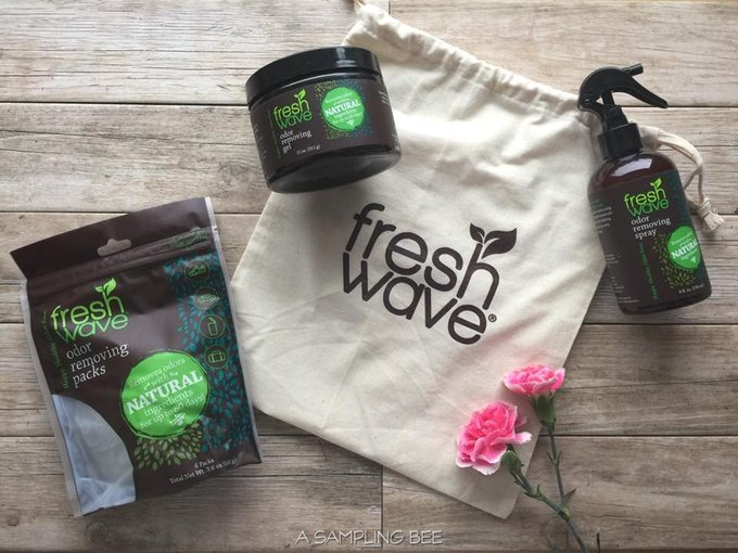 Fresh Wave's Odor Removing Products Review & Giveaway!