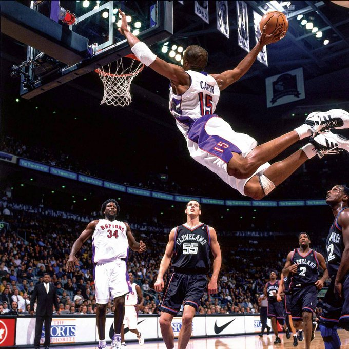 Half Man Half Amazing! Happy birthday Vince Carter