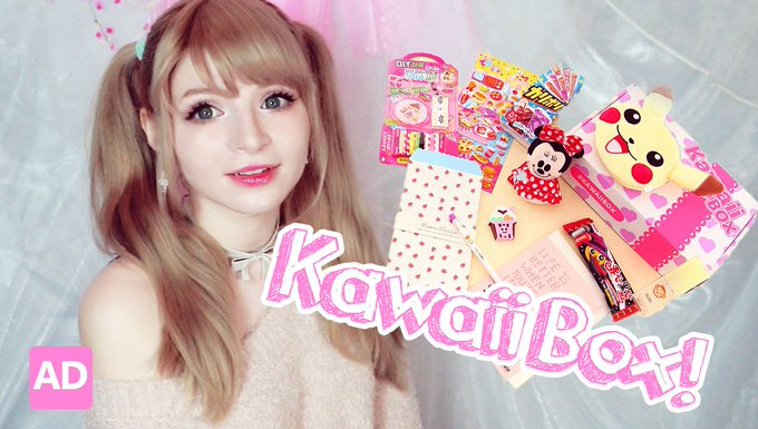CUTE STATIONARY + GIVEAWAY! ♥ Kawaii Box!