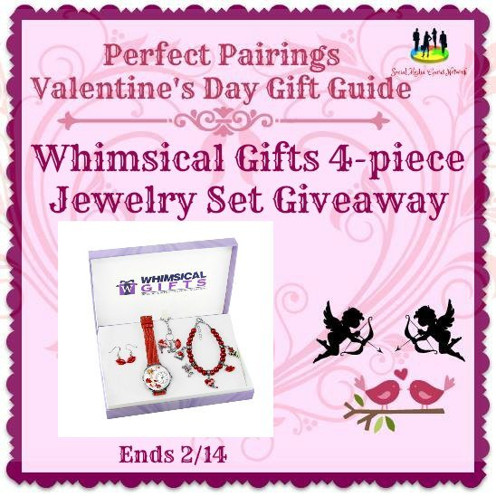 Whimsical Gifts 4-piece Jewelry Set Giveaway Ends 2/14 @SMGurusNetwork