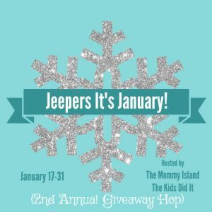 Jeepers It's January! Giveaway Hop
