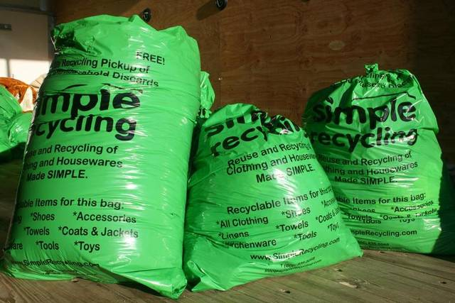 Free Simple Recycling BagsFreebieFriday Coupons freebie samples giveaway FreeSAMPLE