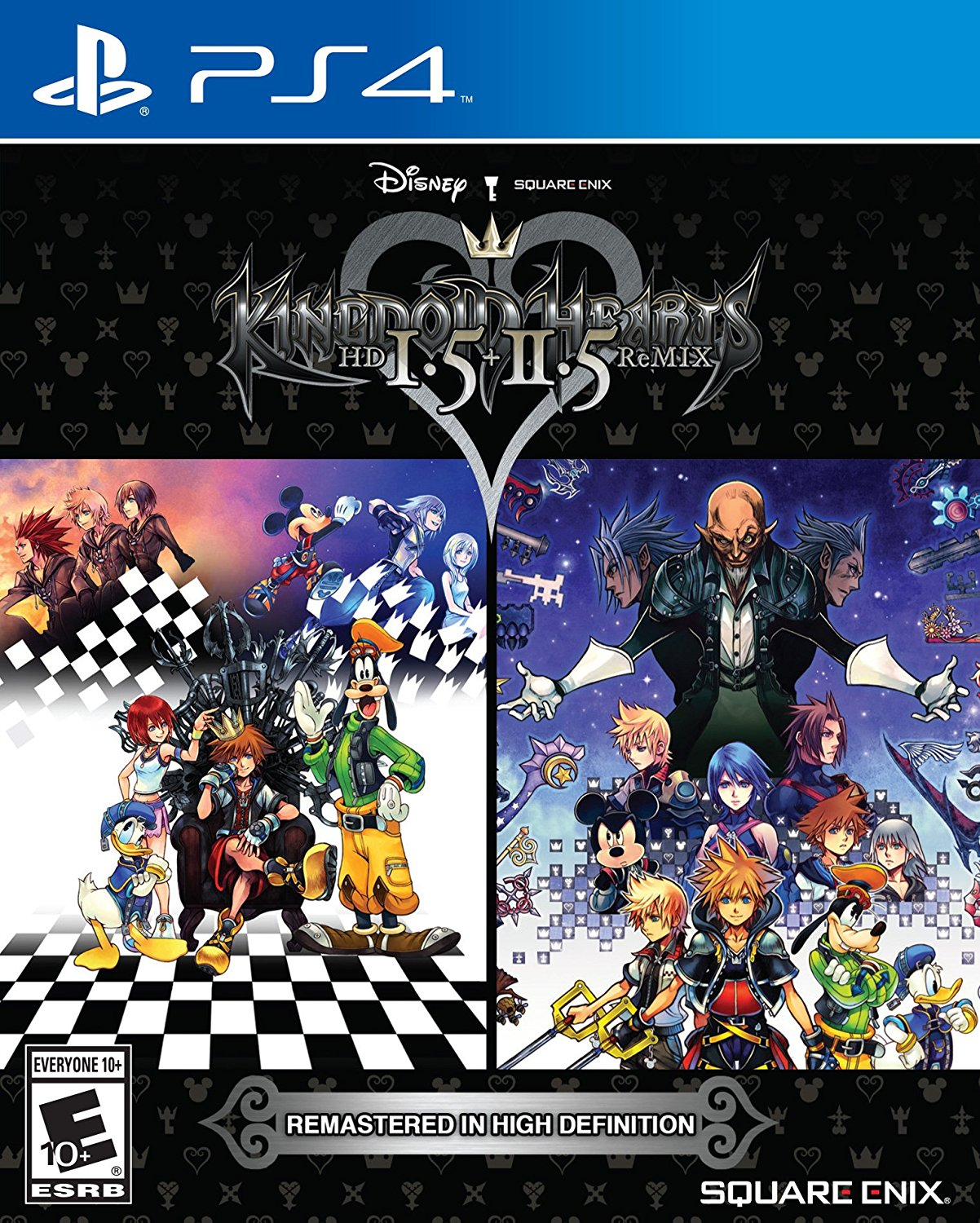Here's the North American cover art for Kingdom Hearts HD 1.5 + 2.5 ReMIX. (Thanks @khinsider) https://t.co/CS31oxBsjB