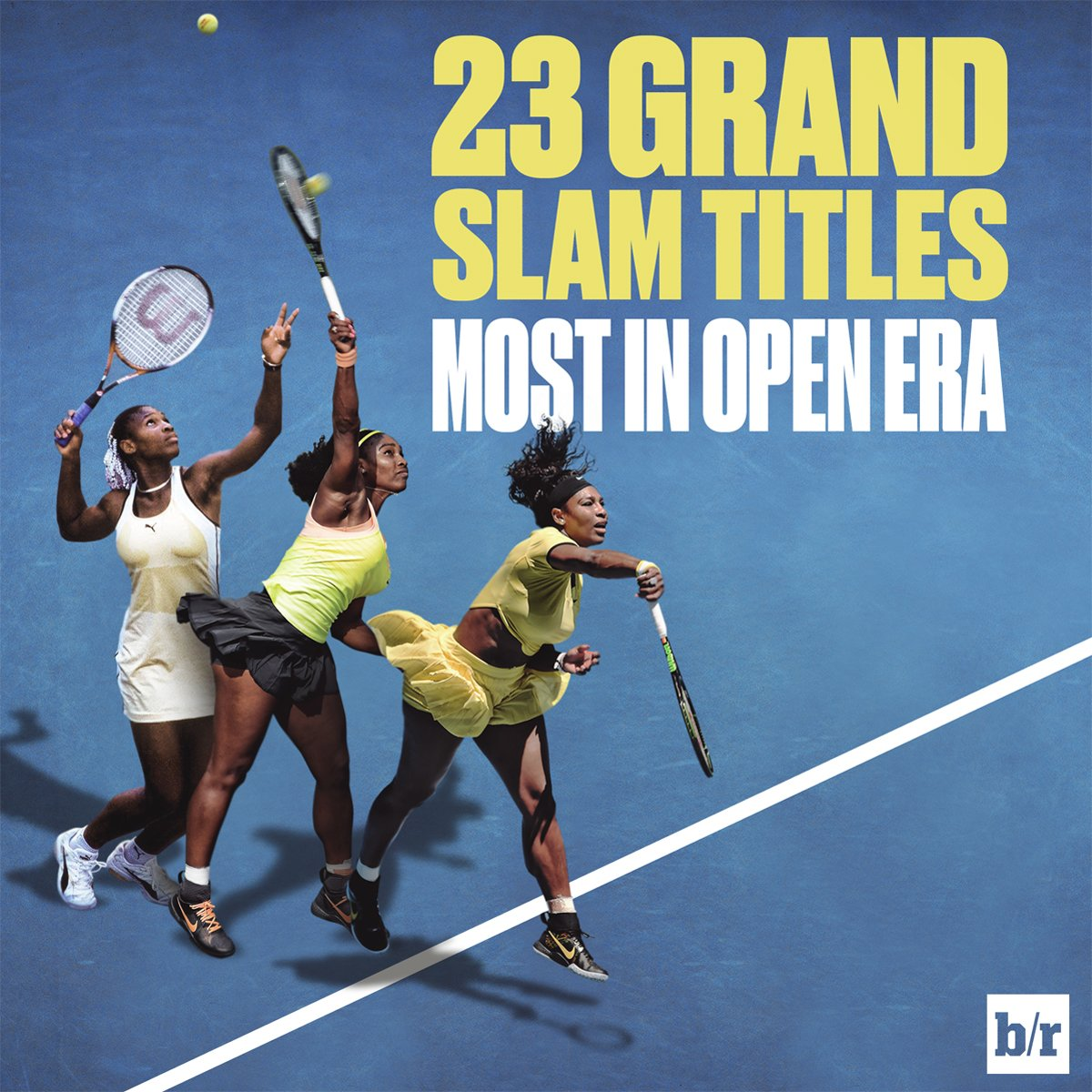 Serena Williams 23 Grand Slam singles