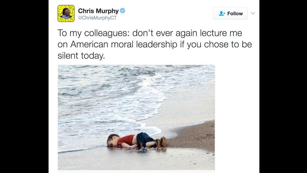 Dem Senator shares powerful message against Trump's refugee ban https://t.co/w9J3QwrCWH https://t.co/6WqndetSaf