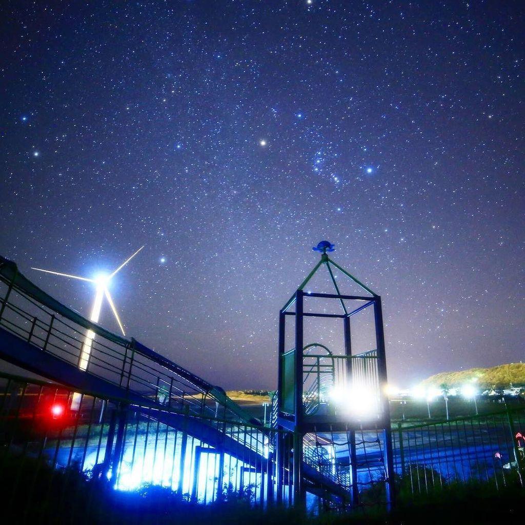 **おもちゃの町(^_^)🚀🛰🚂**#star #stars #starrysky #nightsky#星 #星空 #星