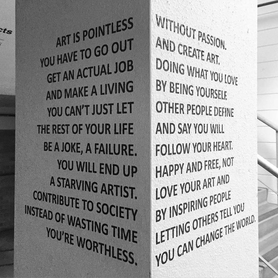 Art is pointless! https://t.co/OIxVce5ZvT