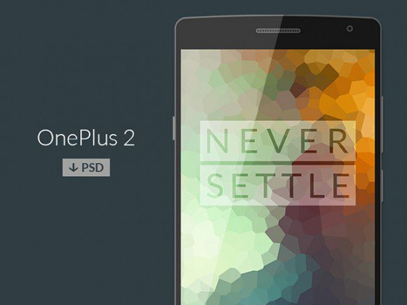 OnePlus 2 PSD mockup free freebie freebies mockups smartphones