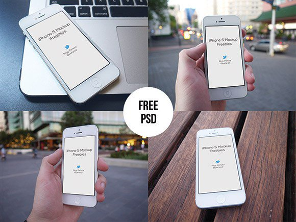 iPhone mockups set free freebie freebies iphone mockups