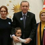 Lindsay Lohan Meets With Turkish President Erdogan and Syrian Refugee Bana Alabed
