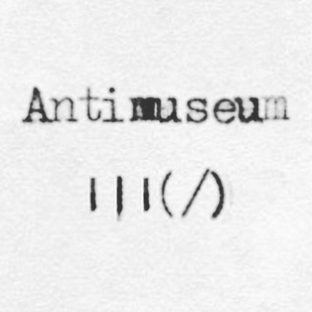 @antimuseum #Antimuseum |||(/) #Origin #artifacts and #antifacts of a #future #world. #ExhibitA https://t.co/kBoOY1vNhj