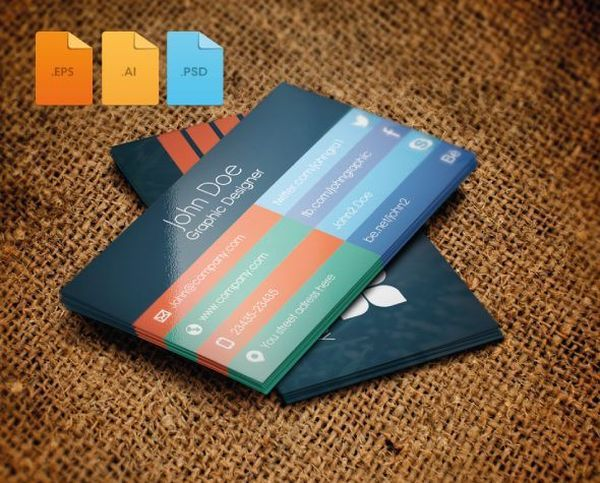 Business card design flat Freebie business businesscard card free freebie freebies