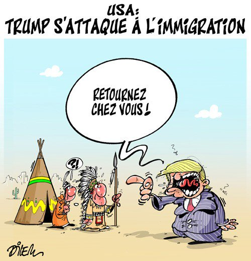 #USA Trump s'attaque à l'immigration: Retournez chez vous ! https://t.co/gH2zWMuviU