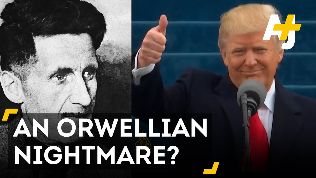 "RT @ajplus: Is the Trump administration reminiscent of George Orwell's ""1984""? https://t.co/MEPemV9lb6"