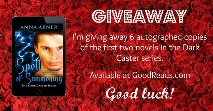 Book giveaway for Spell of Summoning (Dark Caster #1) by Anna Abner Jan 20-Jan 29, 2017