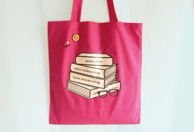 Book Lover Tote Bag & Book of Choice Giveaway