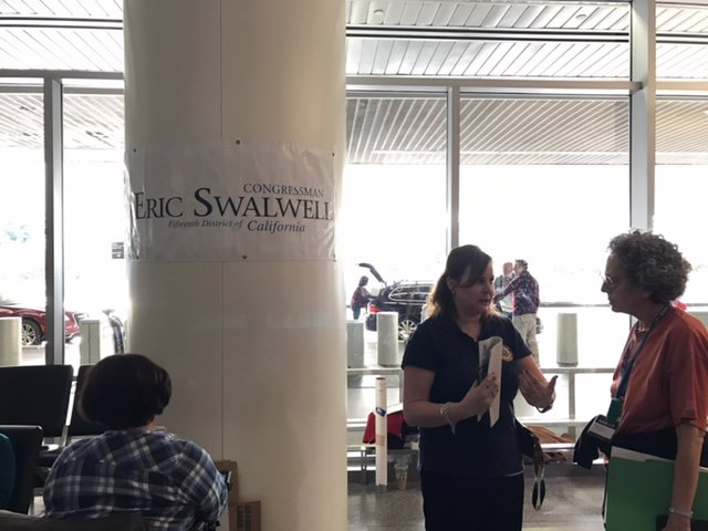 My staffers deployed to #SFO to assist those impacted by President Trump's unconstitutional and immoral #MuslimBan. https://t.co/Vmt2TqaC5C