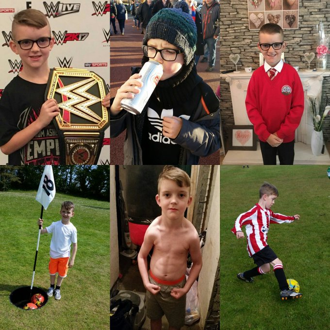 Happy 9th birthday to my legend of a son Jack Jones...love u boy