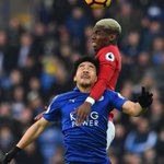 Struggling Leicester falls to Manchester United